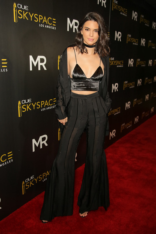 Kendall Jenner Hosts Launch of the OUE Skyspace LA