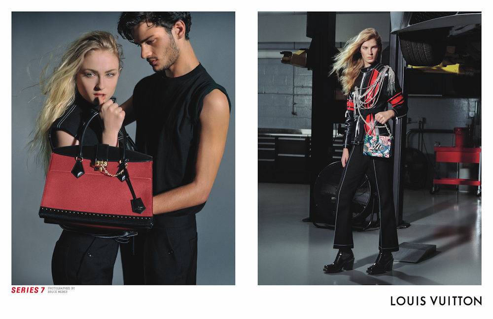 jaden smith riley keough team for louis vuitton fall campaign