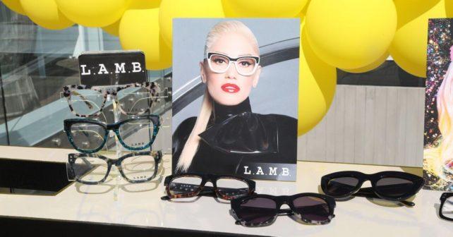 7541ada9bc Gwen Stefani Launches L.A.M.B.   gx Eyewear Collab