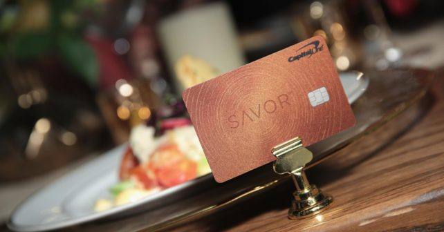 Capital One Launches Savor Card For Foodies With Cash Back