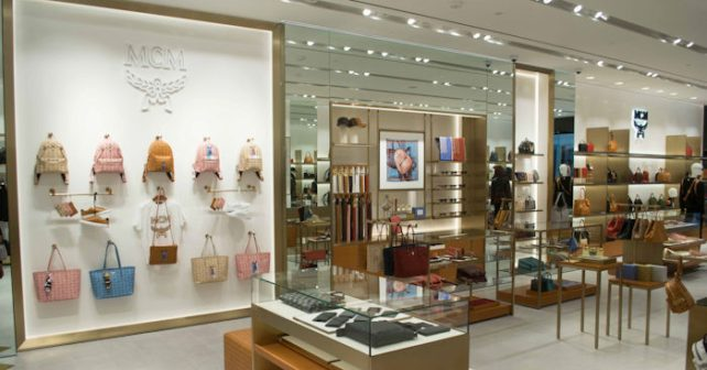 Mcm opens new store at beverly center in los angeles for What does mcm the designer stand for